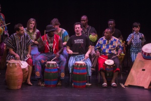 2014 Nukporfe and African Dance class concert