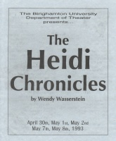 The Heidi Chronicles Cover