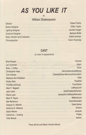 As You Like It Cast-me.JPG